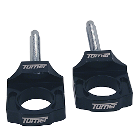 Turner Pro Axle Blocks - MSR Axle Blocks - Black
