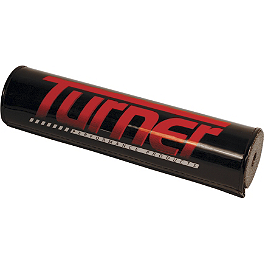 TURNER.ROUND BAR PAD - BikeMaster 120mm Thick Grid Grips - Twist Throttle