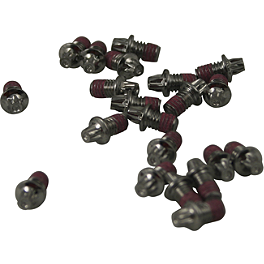 Turner Billet Aluminum Footpeg Screws - 20 Pack - 2008 Suzuki RMZ450 Turner Front Wheel Spacers - Red