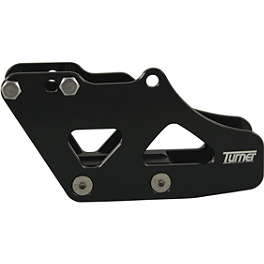 Turner Rear Chain Guide - 2008 Kawasaki KX250F Turner Oversized Mounts With Renthal Twinwall Handlebar Combo
