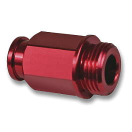 Turner Hot Start Connector - 2007 Honda CRF250X Turner Billet Air Filter Bolt - Red