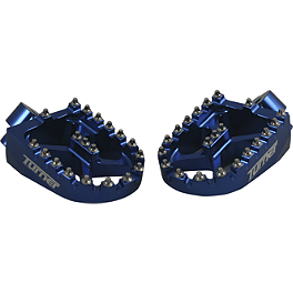 Turner Billet Aluminum Footpegs - 2009 Yamaha YZ250F Turner Front Wheel Spacers - Blue