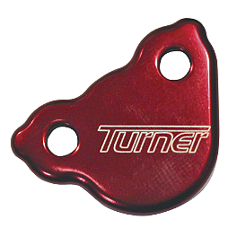 Turner Rear Reservoir Cap - 2008 Kawasaki KX250F Turner Adjust On The Fly Clutch Lever & Perch With Hot Start - Silver