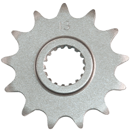 Turner Steel Sprocket - Front - 2006 Honda CR85 Big Wheel Turner Billet Air Filter Bolt - Red