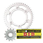 Turner Steel Sprocket & Chain Kit - Dirt Bike Chain and Sprocket Kits