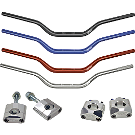 Turner Oversized Bar Mounts With Turner Oversized Handlebar Combo - 2013 Honda CRF450X Turner Universal Bar Mounts - Oversized 1-1/8 Bars