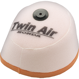 Twin Air Air Filter - 2004 Honda CR85 Turner Billet Air Filter Bolt - Red