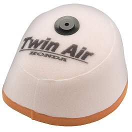 Twin Air Air Filter - 1987 Kawasaki KX60 Moose 2-Stroke Pipe Guard