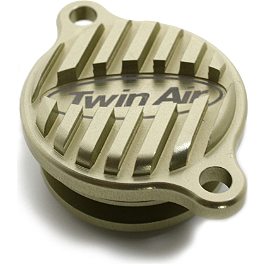 Twin Air Oil Filter Cap - 2007 Kawasaki KX450F Twin Air Oil Filter