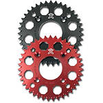 Two Brothers Rear Sprocket, Red Or Black - Two Brothers Dirt Bike Drive