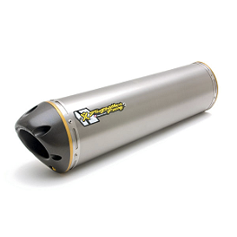 Two Brothers M-2 V.A.L.E. Slip-On Exhaust - Titanium Dual - Two Brothers Juice Box