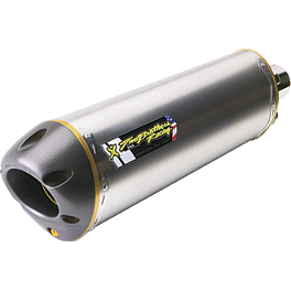 Two Brothers M-2 V.A.L.E. Slip-On Exhaust - Titanium Dual - Two Brothers M-2 Shorty Dual Titanium Slip-Ons