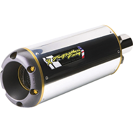 Two Brothers M-2 Full System Shorty Exhaust - Aluminum - Targa Fender Eliminator Kit
