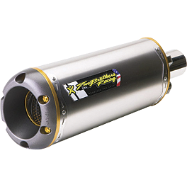 Two Brothers M-2 Full System Shorty Exhaust - Titanium - Two Brothers M-2 Full System Shorty Exhaust - Carbon Fiber
