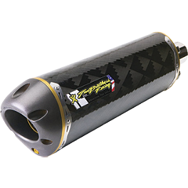Two Brothers M-2 Flange-On Exhaust - Carbon Fiber - Vance & Hines SS2-R Performance Exhaust System