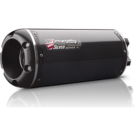 Two Brothers M-2 Silver Series Slip-On Exhaust - Carbon Fiber - 2011 Suzuki GSX-R 600 Two Brothers M-2 Black Series Slip-On Exhaust - Carbon Fiber