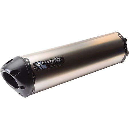 Two Brothers M-5 Black Series Slip-On Exhaust - Titanium - Main