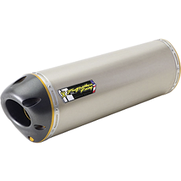 Two Brothers M-5 V.A.L.E. Oval Slip-On Exhaust - Titanium - Two Brothers M-5 Flange-On Exhaust - Carbon Fiber