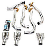 Two Brothers Stainless Header Kit - Slip On Motorcycle Exhaust Systems