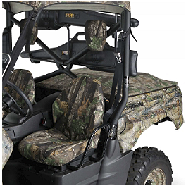 Kawasaki Genuine Accessories Seat Cover - Realtree - Kawasaki Genuine Accessories Seat Cover - Mossy Oak