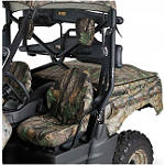 Kawasaki Genuine Accessories Seat Cover - Realtree - Kawasaki OEM Parts Utility ATV Seats and Backrests