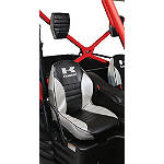 Kawasaki Genuine Accessories Seat Cover - Silver - Utility ATV Seats and Backrests