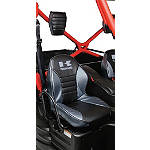 Kawasaki Genuine Accessories Headrest Cover - Titanium - Kawasaki OEM Parts Utility ATV Seats and Backrests