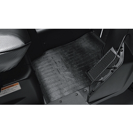 Kawasaki Genuine Accessories Floor Mat - Kawasaki Genuine Accessories Underseat Storage Bin