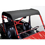 Kawasaki Genuine Accessories Soft Top - Black - Kawasaki OEM Parts Utility ATV Body Parts and Accessories