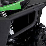 Kawasaki Genuine Accessories Bumper Braces - Wrinkle Black - Kawasaki OEM Parts Utility ATV Bumpers