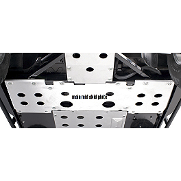 Kawasaki Genuine Accessories Middle Skid Plate - Kawasaki Genuine Accessories Swingarm Skid Plate