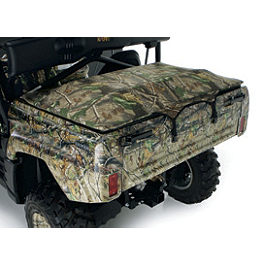 Kawasaki Genuine Accessories Bed Tonneau Cover - Realtree - Kawasaki Genuine Accessories Bumper Braces - Wrinkle Black