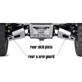 Kawasaki Genuine Accessories Rear Skid Plate - Warn Front A-Arm Body Armor