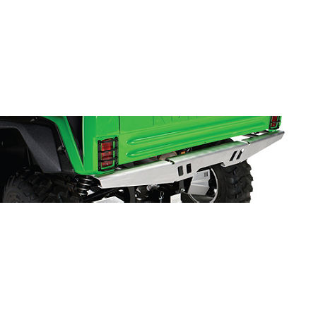 Kawasaki Genuine Accessories Rear Bumper - Brushed Aluminum - Main