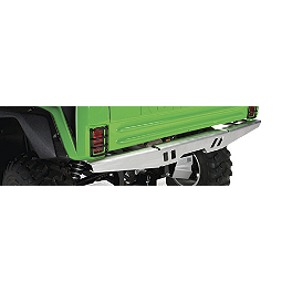 Kawasaki Genuine Accessories Rear Bumper - Brushed Aluminum - Kawasaki Genuine Accessories Cargo Box