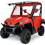 Kawasaki Genuine Accessories Complete Cab Without Doors - Sunbeam Red - Kawasaki OEM Parts Utility ATV Body Parts and Accessories