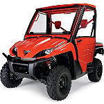 Kawasaki Genuine Accessories Modular Windshield / Frame - Black - Kawasaki OEM Parts Utility ATV Wind Shields