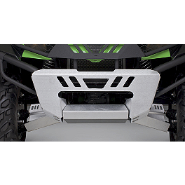 Kawasaki Genuine Accessories Front Bumper Cover - Kawasaki Genuine Accessories Bumper Braces - Wrinkle Black