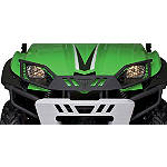 Kawasaki Genuine Accessories Brush Guard Bumper - Wrinkle Black - Kawasaki OEM Parts Utility ATV Winches and Bumpers