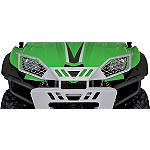 Kawasaki Genuine Accessories Brush Guard Bumper - Aluminum - Kawasaki OEM Parts Utility ATV Winches and Bumpers