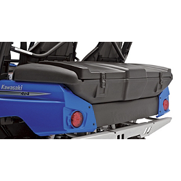 Kawasaki Genuine Accessories Cargo Box - 2012 Kawasaki TERYX4 750 FI 4X4 Kawasaki Genuine Accessories Hitch Draw Bar