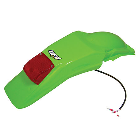 UFO Rear Fender With Light - Green - Main