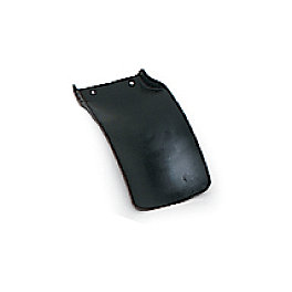 UFO Mud Flap - Black - 2000 Kawasaki KX250 UFO Fork Guards
