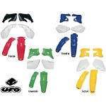 UFO Plastic Kit - OEM Colors - UFO Dirt Bike Plastics and Plastic Kits