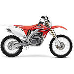 UFO Rear Fender With Light 02+ - Red - UFO Dirt Bike Front and Rear Fenders