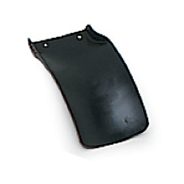 UFO Mud Flap - Black - 1990 Yamaha YZ125 UFO Rear Fender