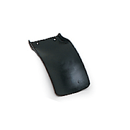 UFO Mud Flap - Black - 1998 Yamaha WR400F Acerbis Mud Flap Black