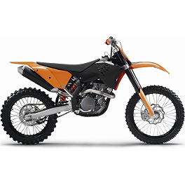 KTM OEM Factory Plastic Kit - White - 2009 KTM 250SX KTM Excel Pro Series Complete Wheel Black/Orange 1.60X21