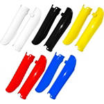 UFO Fork Guards - Dirt Bike Plastics and Plastic Kits