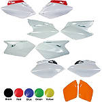 UFO Side Panels - Kawasaki KDX200 Dirt Bike Body Parts and Accessories